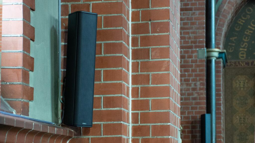 QSC installatie kerk Einighausen
