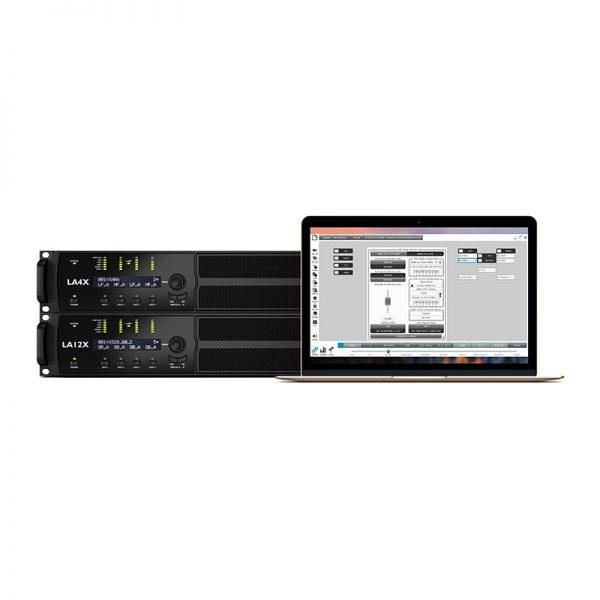 L-Acoustics LA4X A15 Amplifier connection