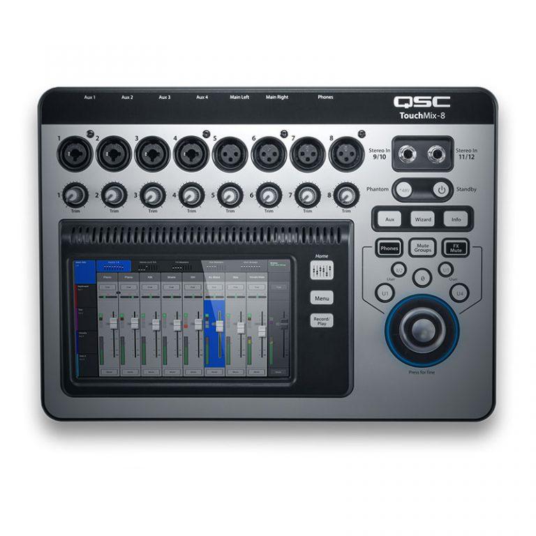 QSC TouchMix-8 Mixer