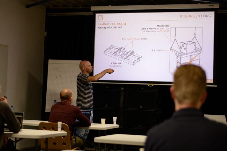 Training L-Acoustics
