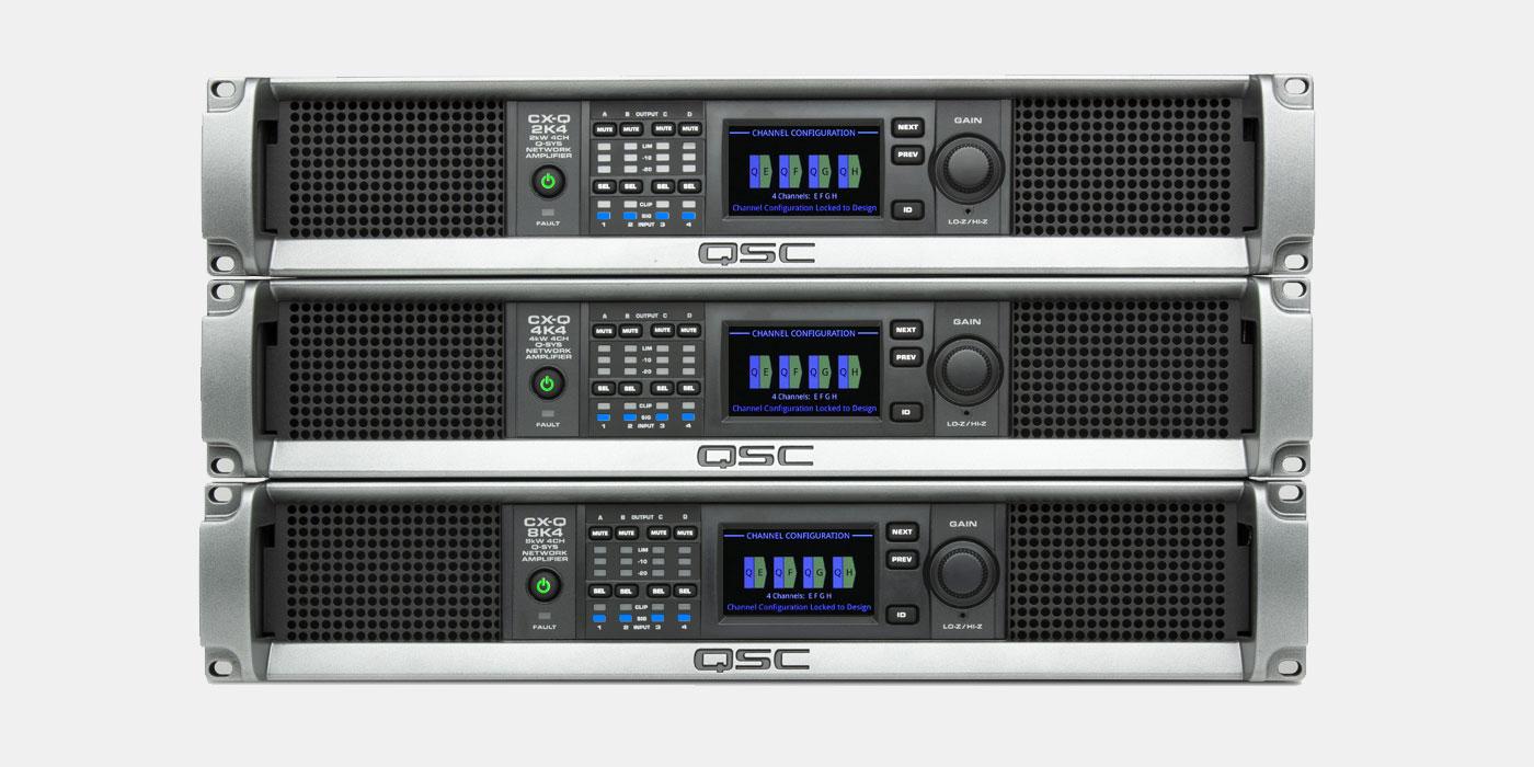 QSC versterker test vermogensduurtest
