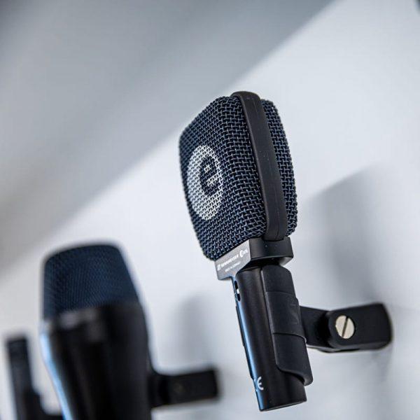 Assortiment audio producten microfoons