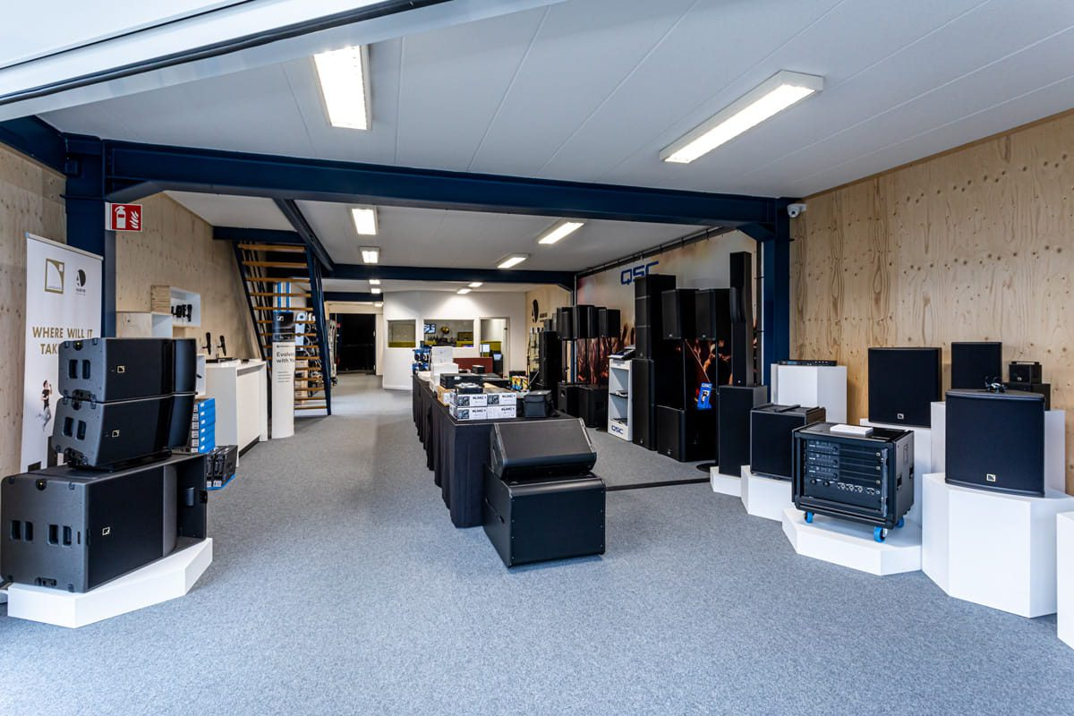 Beleef de producten bij Audio Solvation in de showroom.